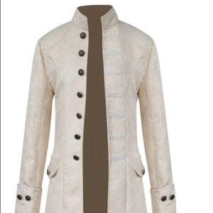 Men's steampunk pirate jacket